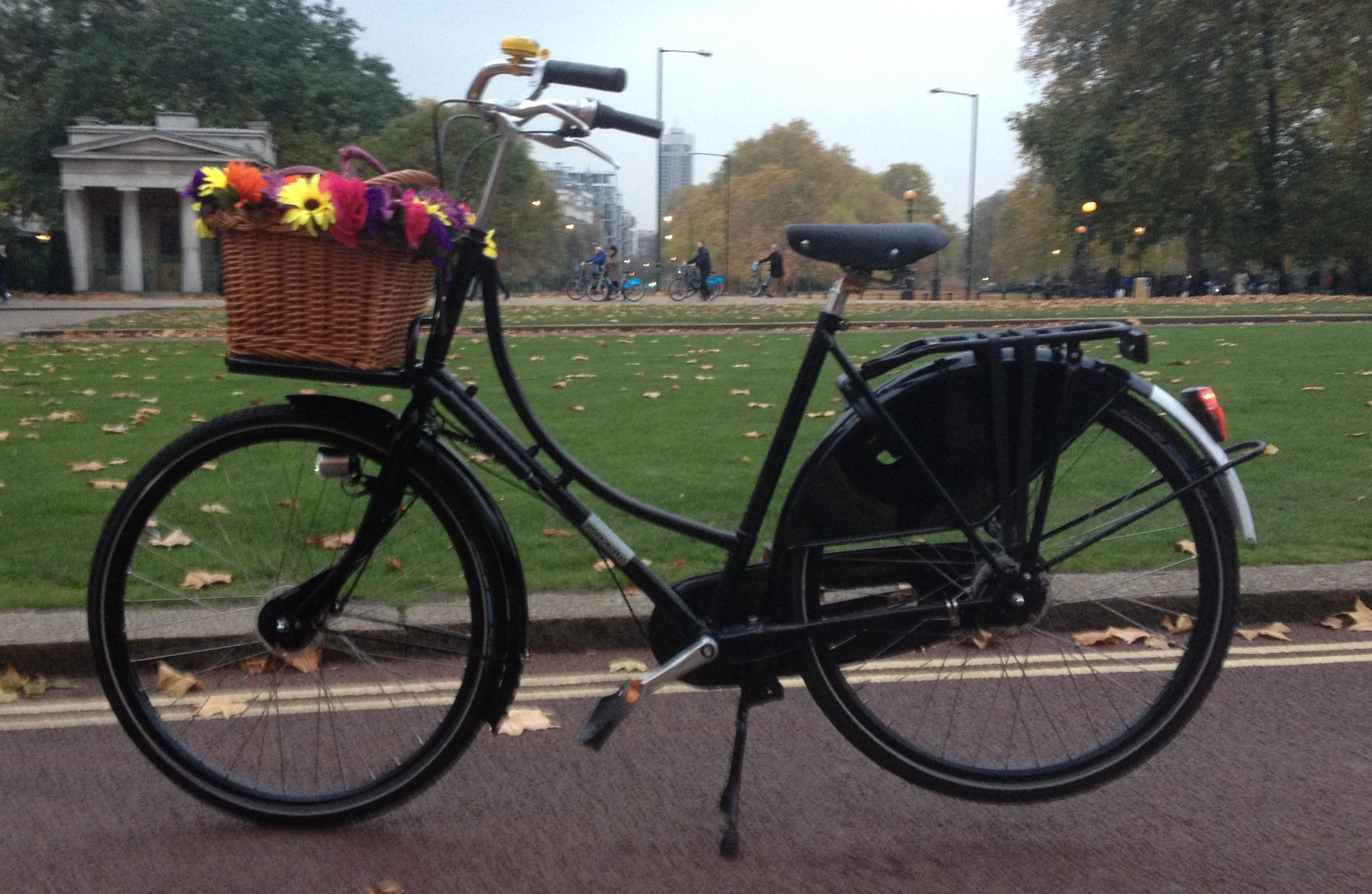 Best Grandma Ever Floral Bicycle Handlebar Bike Bell