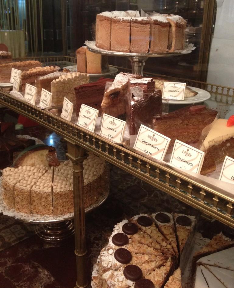 Viennese cakes