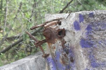 rusty-metal-luge-Sarajevo-Bosnia