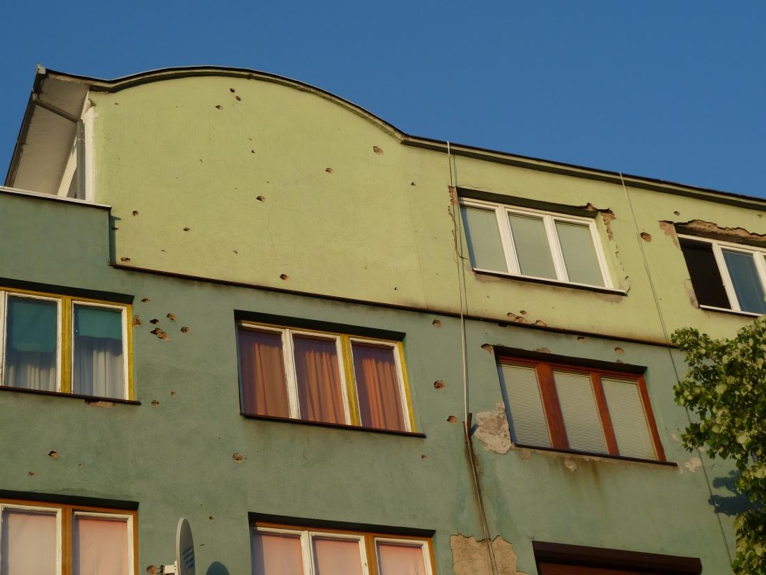 shrapnel-building-Sarajevo-Bosnia