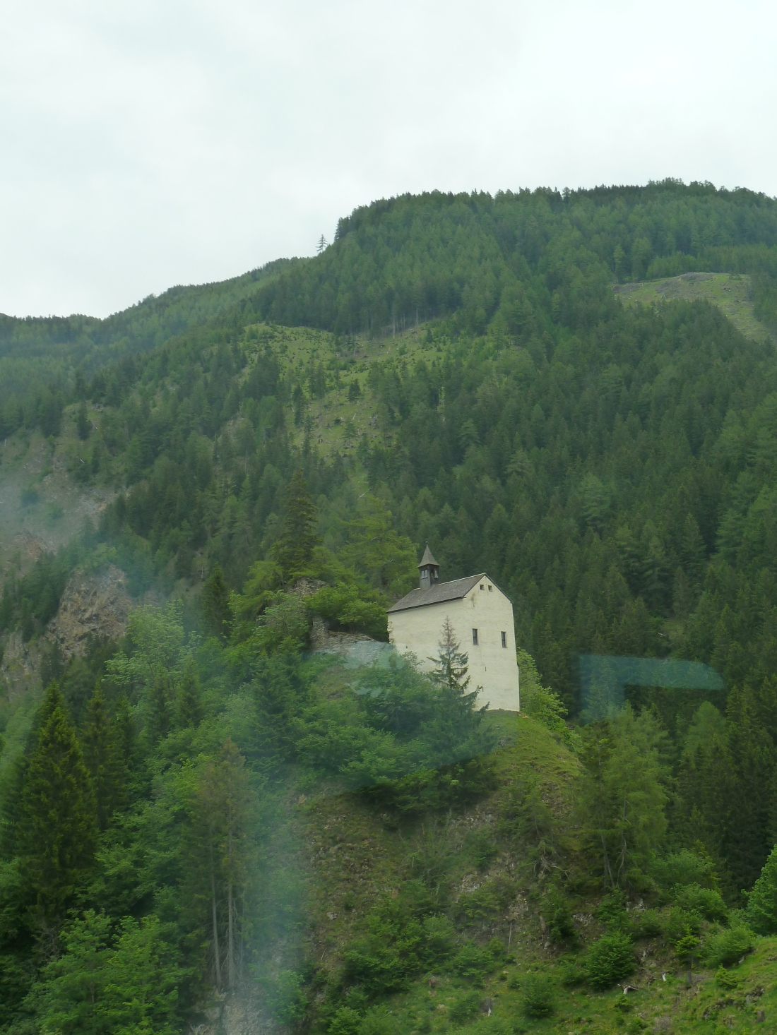 An Alpine church, somewhere in the mountains of Slovenia or Austria . . . its hard to say)