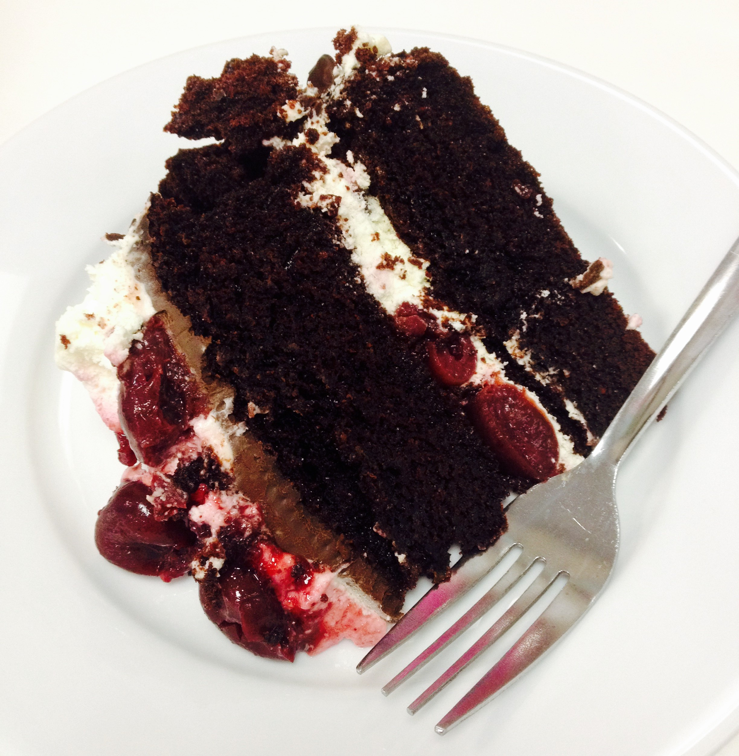 Accidental Black Forest Gateau Or How To Save Your Baking Bells